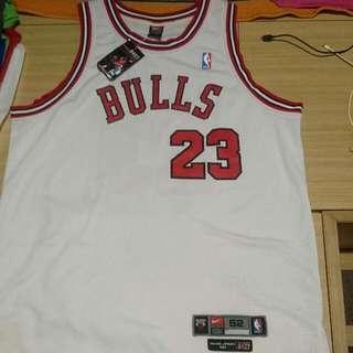 Nike Michael Jordan Bulls 8403 Authentic Jersey Size 52