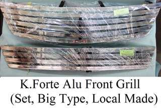 GRILL CHROME KIA FORTE FIRST MODEL