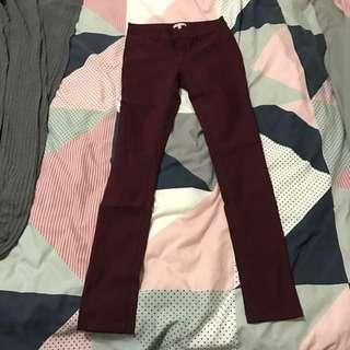 Valleygirl Burgundy Jeans