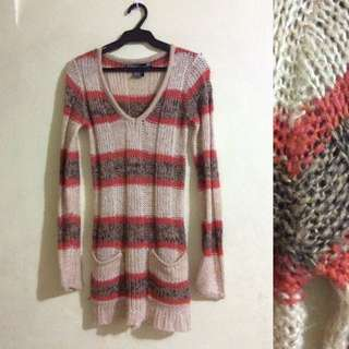 Long Sleeve Knitted Pullie