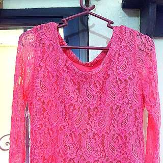 Fitted Lonsleeves Blouse