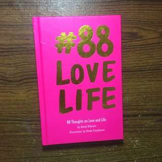 #88 88 love life diana rikasari STICKER LENGKAP