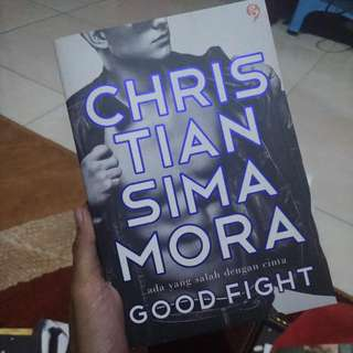 Novel Good Fight Christian Simamora