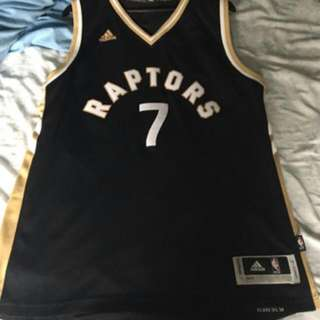 LIMITED EDITION OVO LOWRY RAPTORS JERSEY