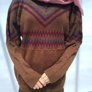 Knit Tribal Sweated