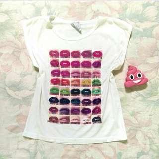 Semi-crop Shirt