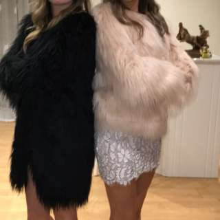 Missguided Shaggy Jacket