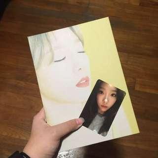 taeyeon fine version album