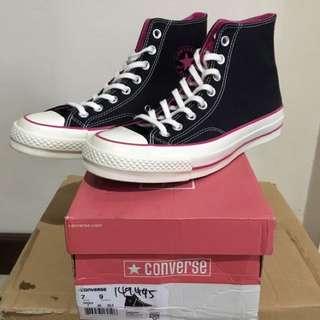 Converse CTAS 1970s / 70s Hi Black/Cabare size 40 Original!
