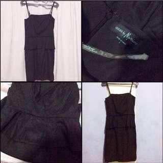 Guess Black Dress #jatuhharga