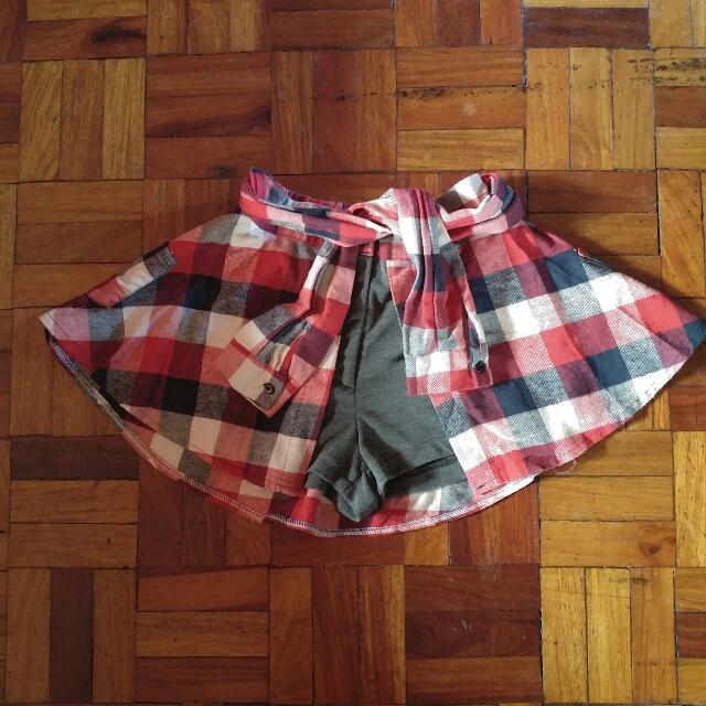 2-in-1 Shorts/skirt