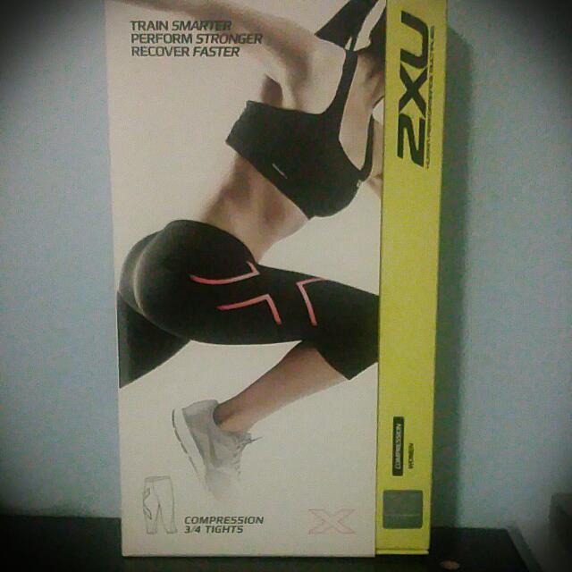 2XU 3/4 Compression tights Size S