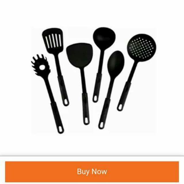 6 Pcs  Non-stick Kitchen Utensil