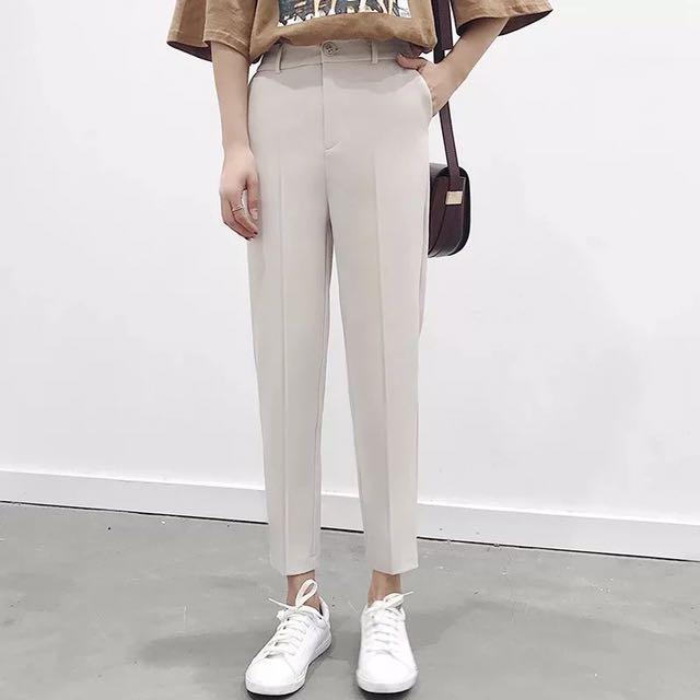 韓版西裝休閒褲
