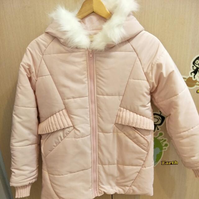芭比粉色舖棉外套#三百元外套