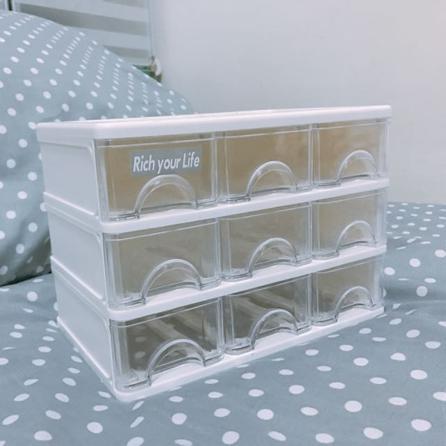 九抽收納盒