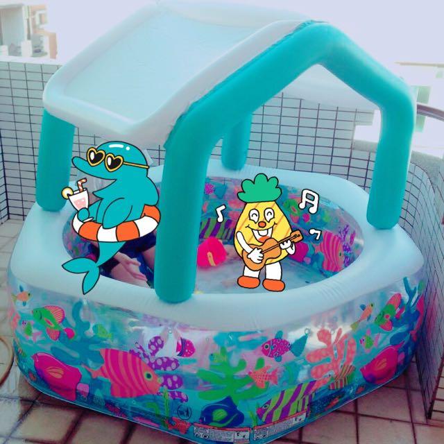 充氣游泳池🚰🏖👙🐳🍹