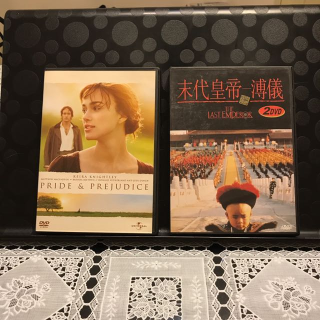 經典劇情電影 DVD六隻 VCD 一隻