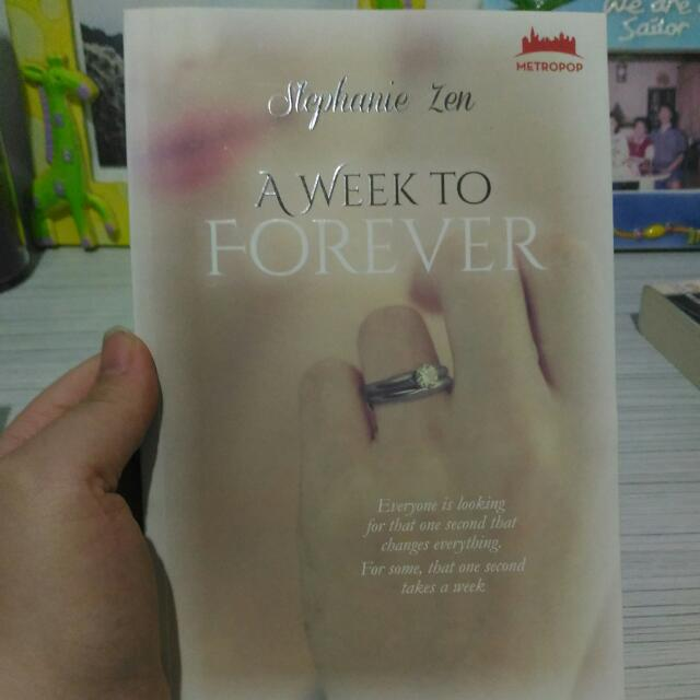 A Week To Forever (Stephanie Zen)