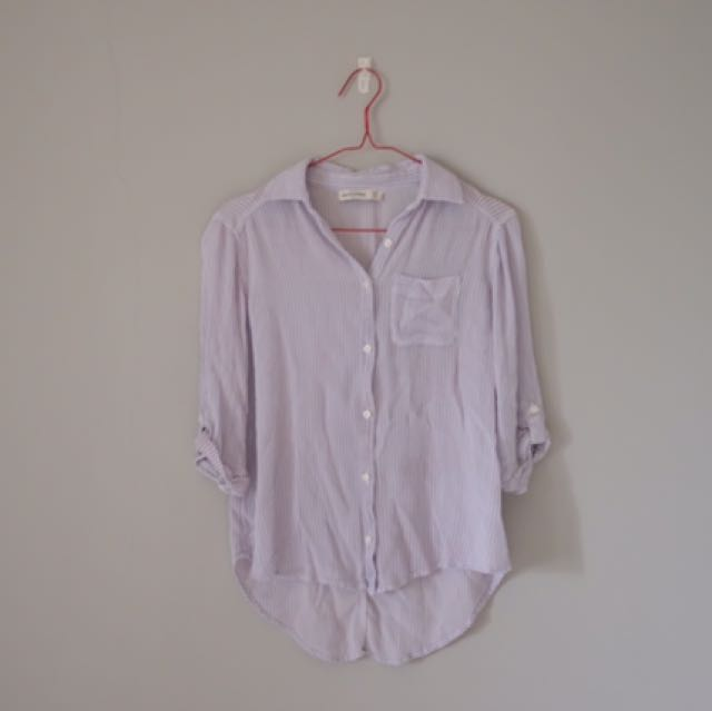 ABERCROMBIE&FITCH Striped Shirt
