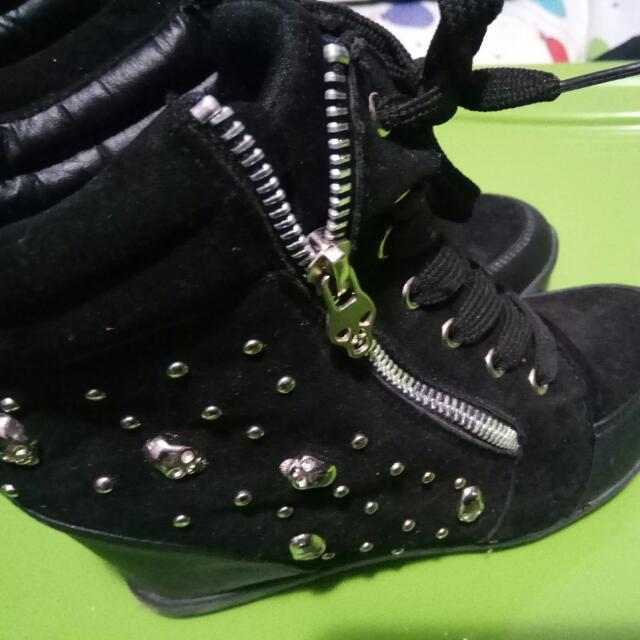 A.Co SNEAKERS WEDGES SIZE 37/7