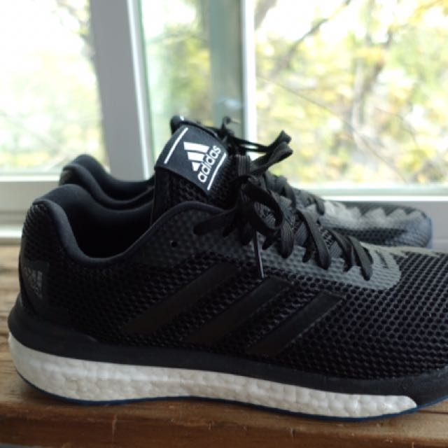 Adidas Boost Black Running Shoes Men's Size 8