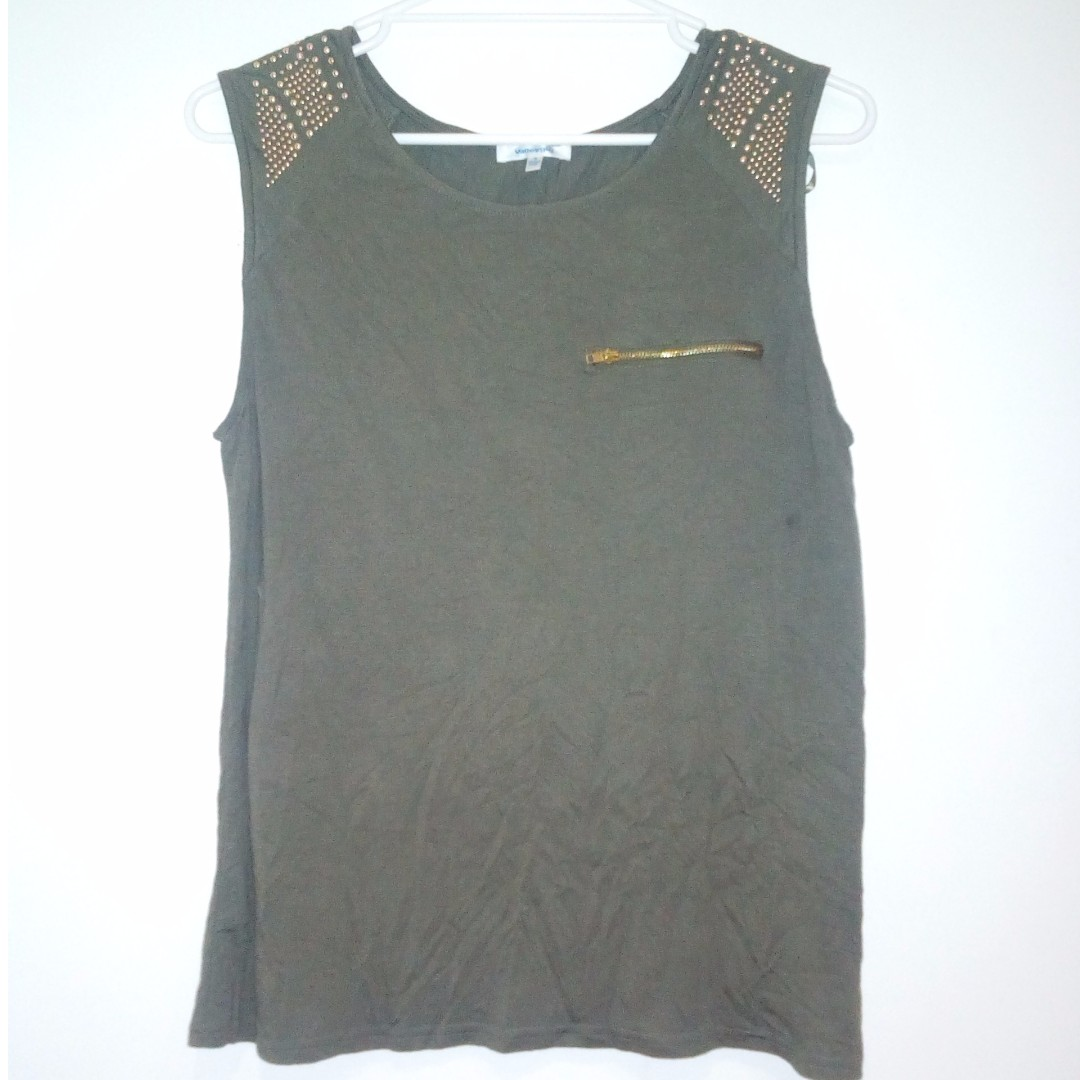 Army Green Top Small