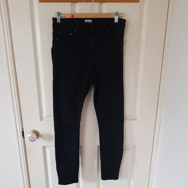 Asos Black Ridley Jeans 28/32