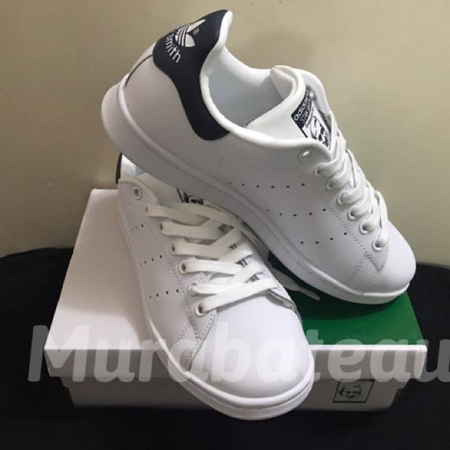 Authentic Adidas Stan Smith Navy Blue, Men's Fashion, Footwear on Carousell