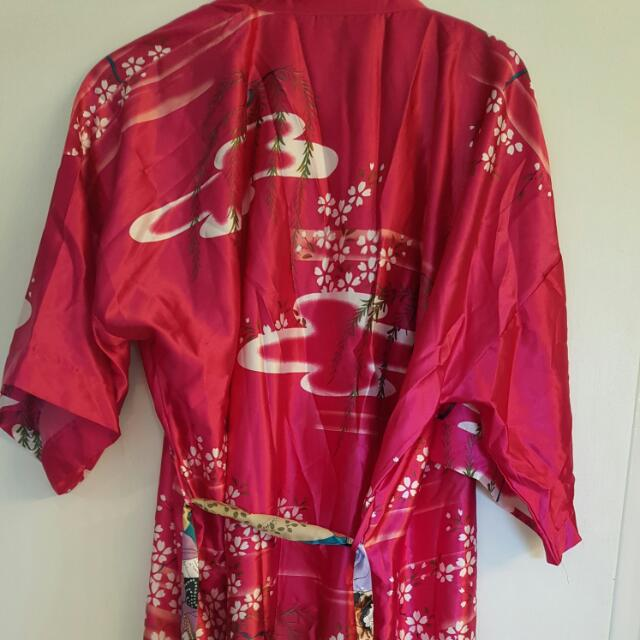 Authentic Kimono Bought In China