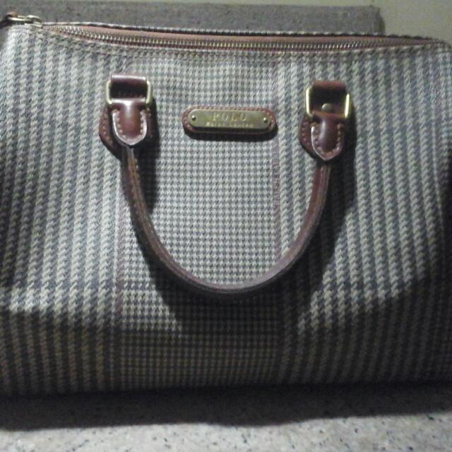 Authentic Ralph Lauren Speedy Bag