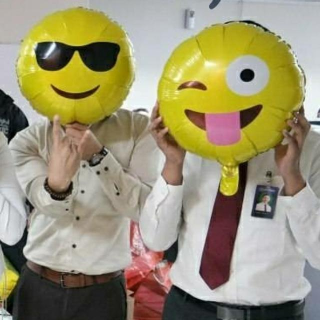 Balon Foil Emoji / Emoticon