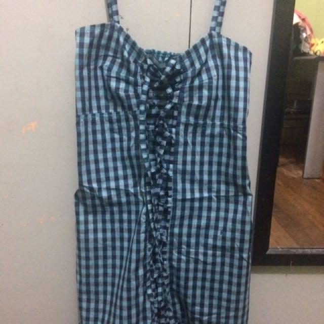 Bangkok Checkered Dress