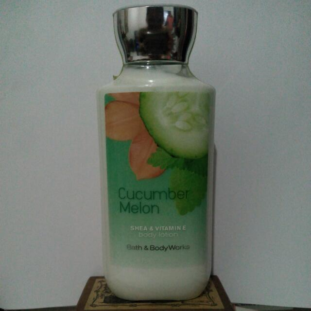 Bath and Body Works Lotion, Cucumber Melon