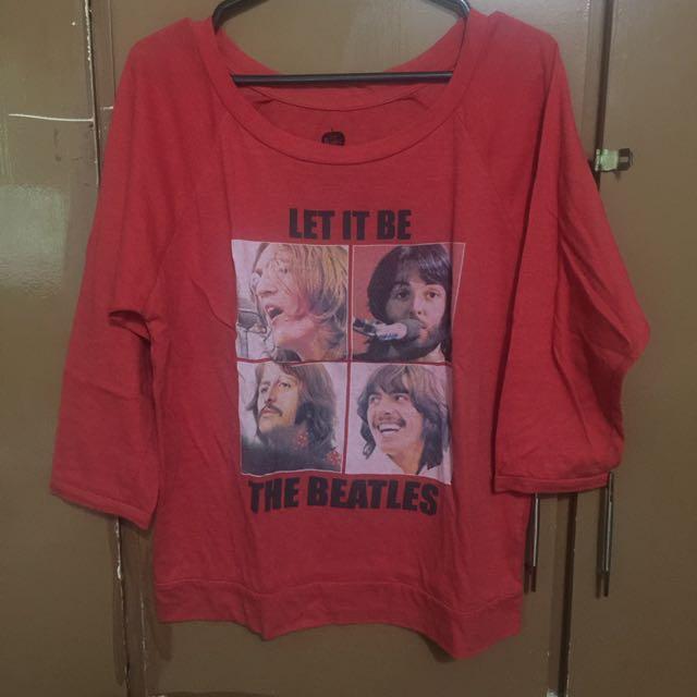 BEATLES blouse