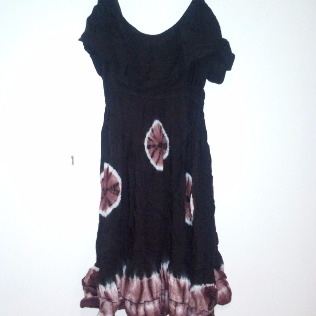 Black and Brown Summer Dress