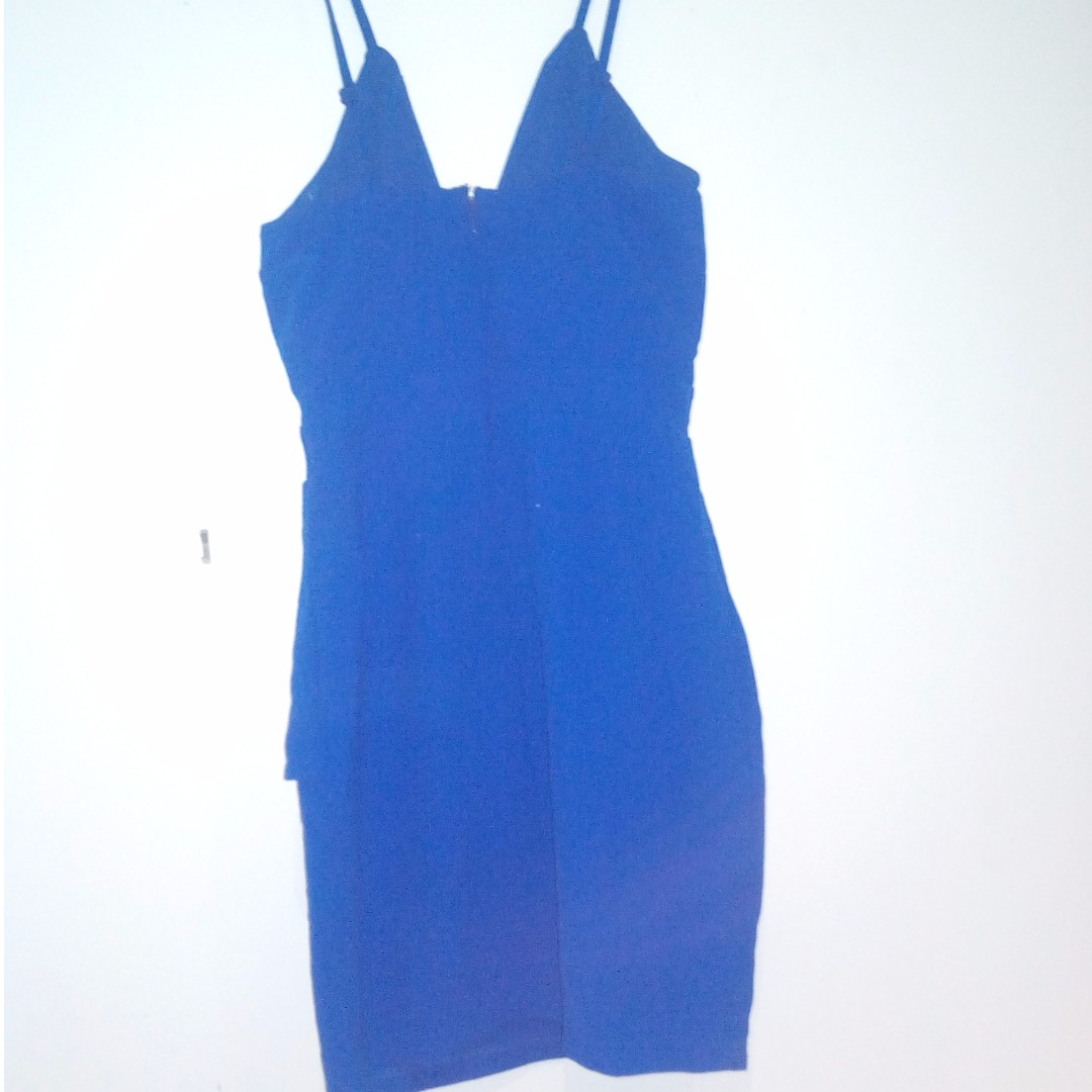 Blue Cocktail/Party Dress Size 6