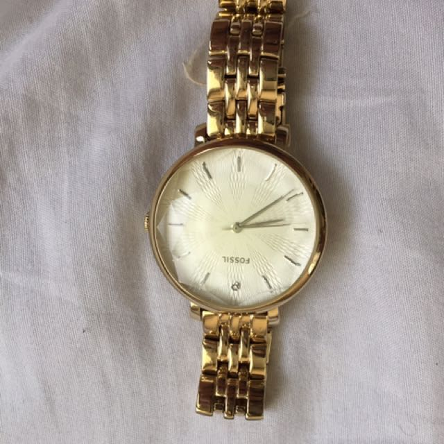 Brand New Without Tag Fossil Watch! With Free Hilfiger Watch