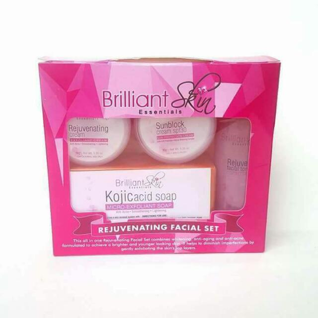 Brilliant Skin Rejuvenating Sets Preloved Health Amp Beauty