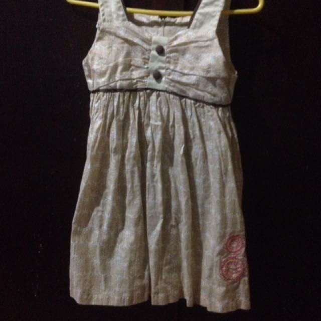 Brown Dress To Girl