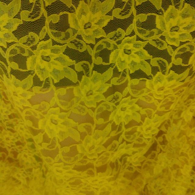 Brukat Yellow