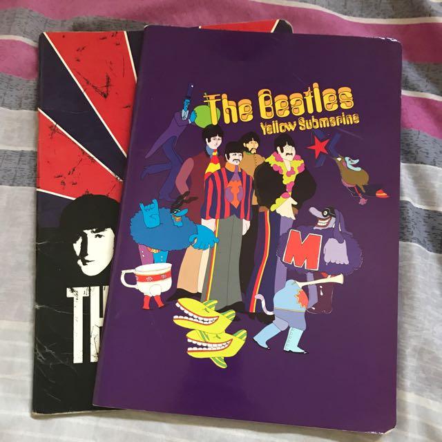Buy One Take One - Beatles Notebook (Grid Paper)
