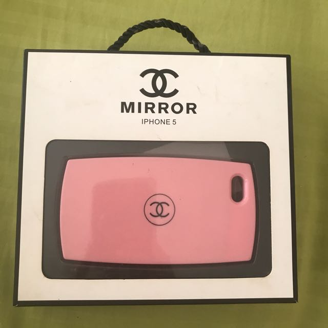 Chanel mirror case for Iphone 5