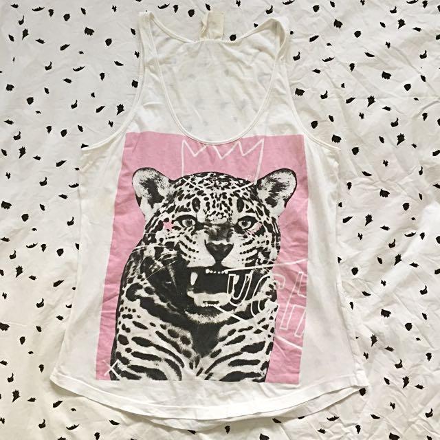 Cheetah Print Tank Top