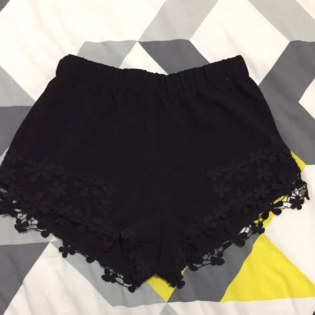 Cute Black Shorts