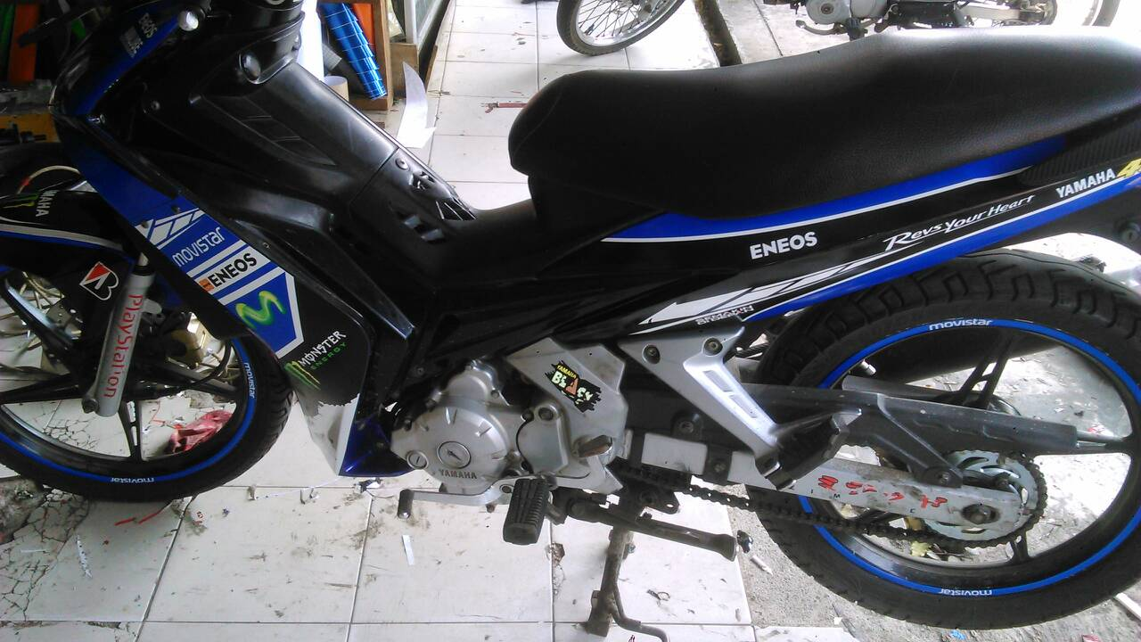 Decal old jupiter mx 135 moviestar auto accessories on carousell