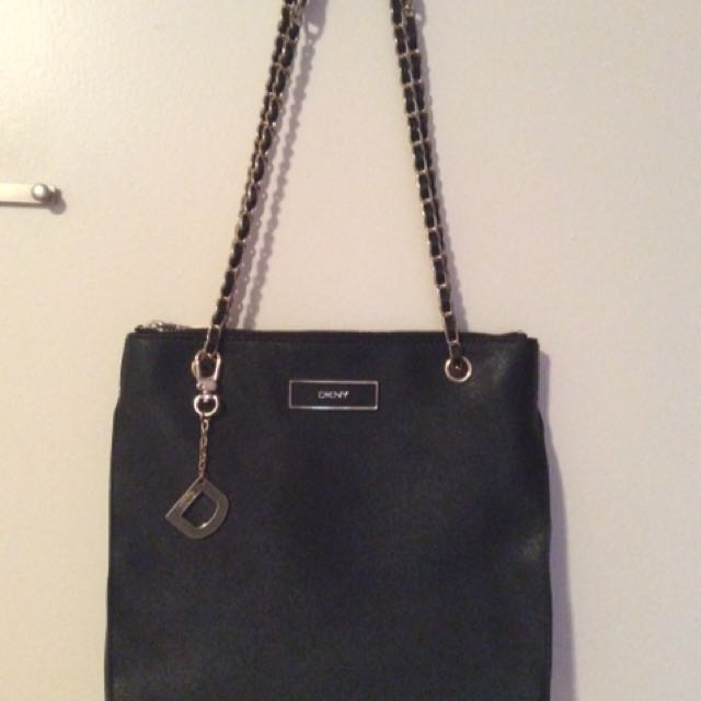 Donna Karan New York (DKNY) Saffiano Leather Purse