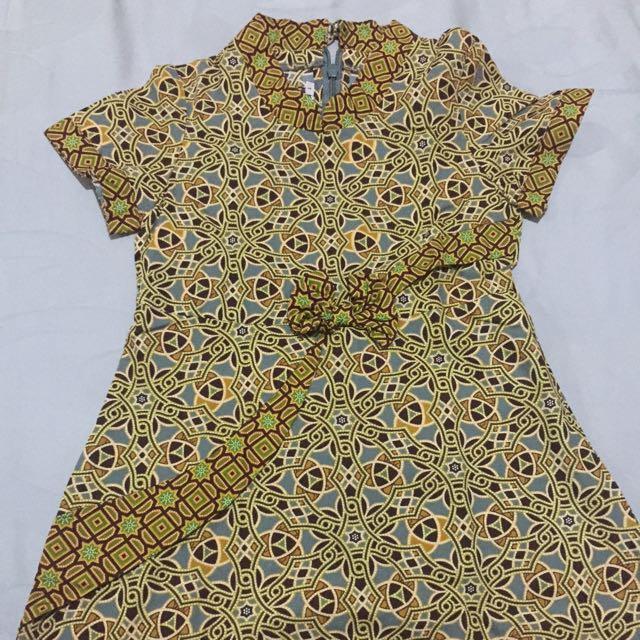 Dress Batik Keris