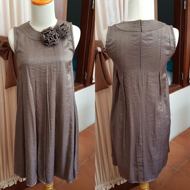 Dress Party Grey