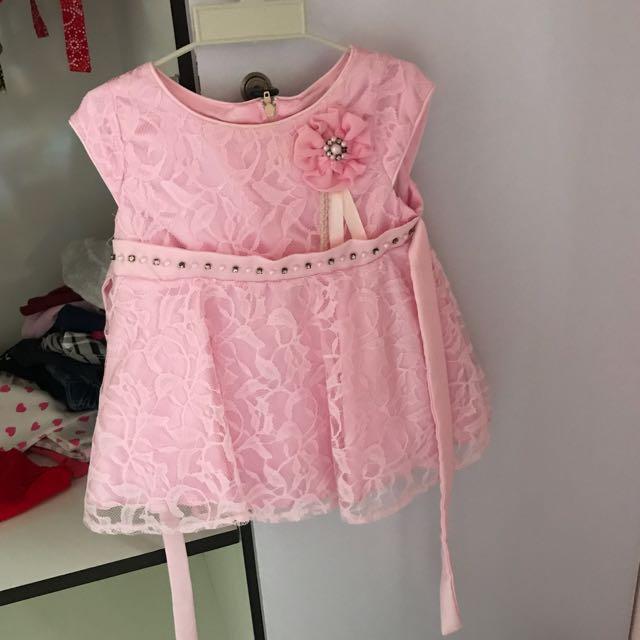 Dress Pesta 1-2 Tahun